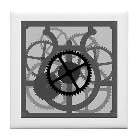 Clockwork Tile Coaster