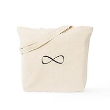 Infinity Symbol Tote Bag