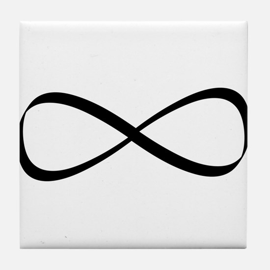 Infinity Symbol Tile Coaster
