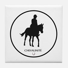 Horse Theme Design by Chevalinite Tile Coaster