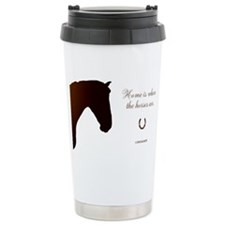 Horse Theme Design by Chevalinite Travel Mug