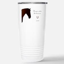 Horse Theme Design by Chevalinite Travel Mug