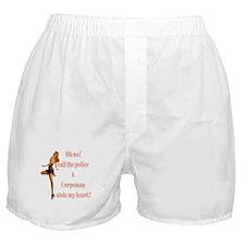 oh no corpsman Boxer Shorts