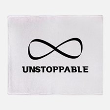 Unstoppable Throw Blanket