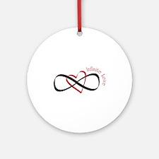 Infinite Love Ornament (Round)