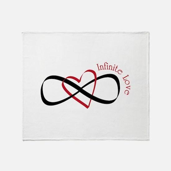 Infinite Love Throw Blanket