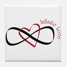 Infinite Love Tile Coaster