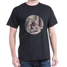Medieval Sniper Black T-Shirt