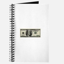 100 Dollar Bill Journal