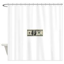 100 Dollar Bill Shower Curtain