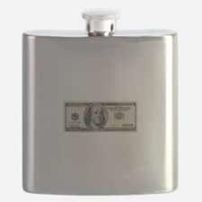 100 Dollar Bill Flask
