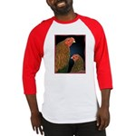 Chantecler Rooster and Hen Baseball Jersey