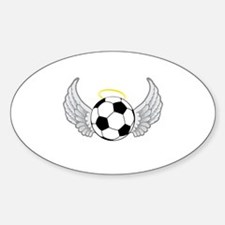 Soccer Angel Decal
