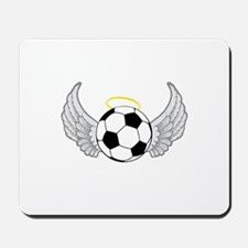 Soccer Angel Mousepad