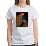 Chantecler Rooster and Hen Women's T-Shirt