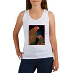Chantecler Rooster and Hen Women's Tank Top