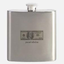 You Cant Afford Me Flask