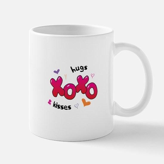 XOXO hugs & kisses Mugs