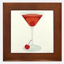 Manhattan Cocktail Martini Glass Drink Beverage Fr