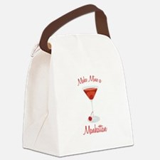 Make Mine a Manhattan Canvas Lunch Bag