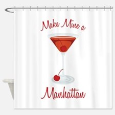 Make Mine a Manhattan Shower Curtain