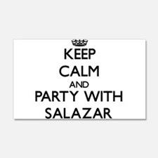 Keep calm and Party with Salazar Wall Decal