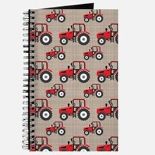 Red Tractor Pattern Journal
