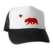 California Love Flag (red) Trucker Hat