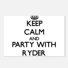 Keep calm and Party with Ryder Postcards (Package