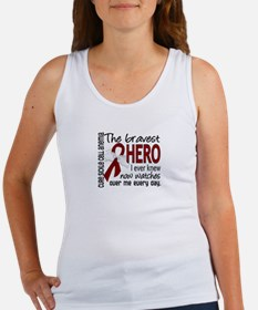Sickle Cell Anemia BravestHero1 Women's Tank Top