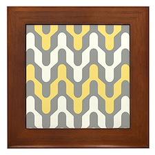 Rounded Chevron Framed Tile