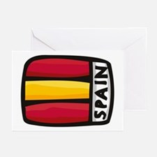 Spain Greeting Cards (Pk of 10)