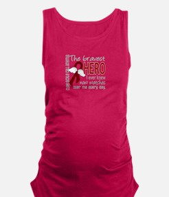 Sickle Cell Anemia BravestHero1 Maternity Tank Top