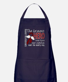Sickle Cell Anemia BravestHero1 Apron (dark)