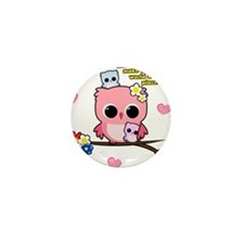 Owl Mothers Mini Button (10 pack)