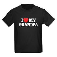 I Love My Grandpa T
