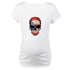 Puerto Rico Flag Skull Shirt