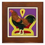 King Chantecler Framed Tile
