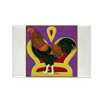 King Chantecler Rectangle Magnet (100 pack)