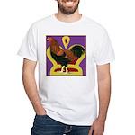 King Chantecler White T-Shirt