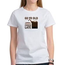 60 Year Old Chocolate Tee