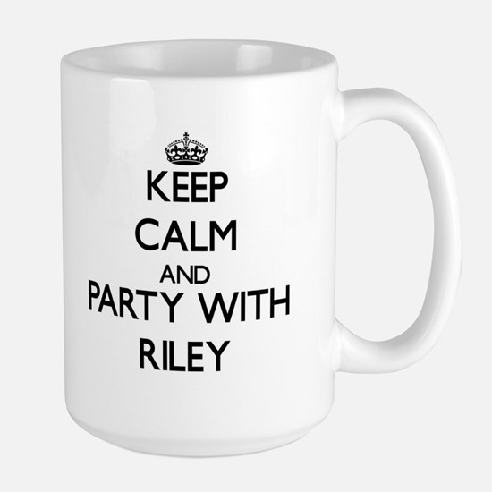Keep calm and Party with Riley Mugs