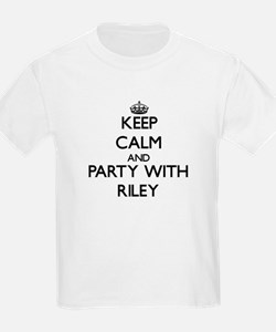 Keep calm and Party with Riley T-Shirt