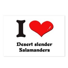 I love desert slender salamanders  Postcards (Pack