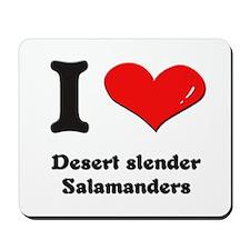 I love desert slender salamanders  Mousepad