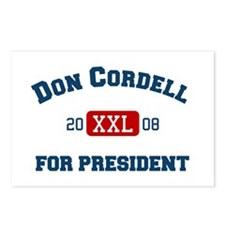 Don Cordell for President Postcards (Package of 8)