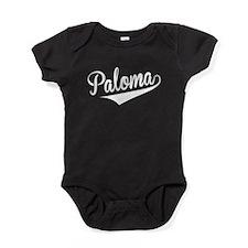Paloma, Retro, Baby Bodysuit
