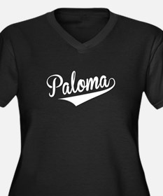 Paloma, Retro, Plus Size T-Shirt