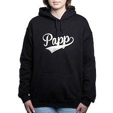 Papp, Retro, Women's Hooded Sweatshirt