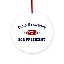 Doug Stanhope for President Ornament (Round)